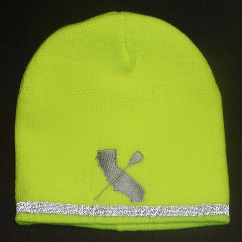 CALI PADDLER IVIS REFLECTIVE BEANIE - West Coast Paddle Sports