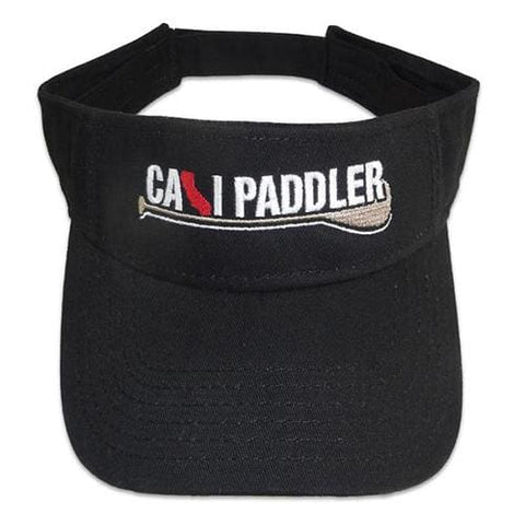 Cali Paddler Visor - Black - Apparel