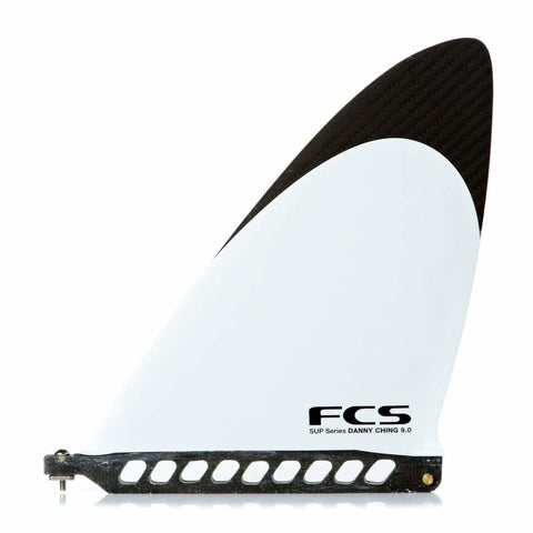 FCS II DANNY CHING SUP FIN WHITE - West Coast Paddle Sports