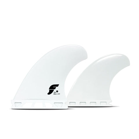 FUTURES FINS THERMOTECH V2Q1 QUAD SET WHITE - West Coast Paddle Sports