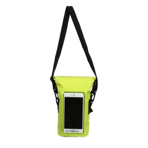 GECKOBRANDS WATERPROOF PHONE TOTE - LIME - GEAR/EQUIPMENT
