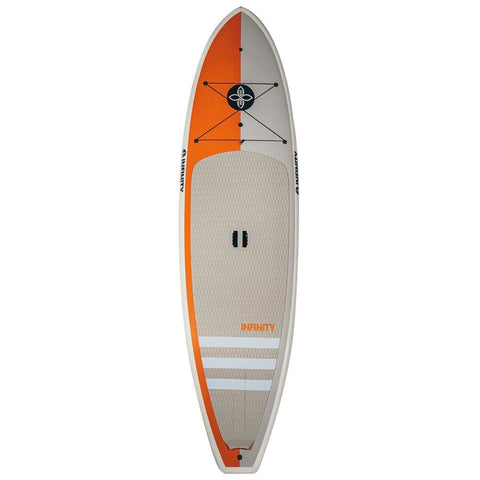 INFINITY WIDE AQUATIC 10'8 x 33 x 200L ORANGE/ GREY - BOARDS