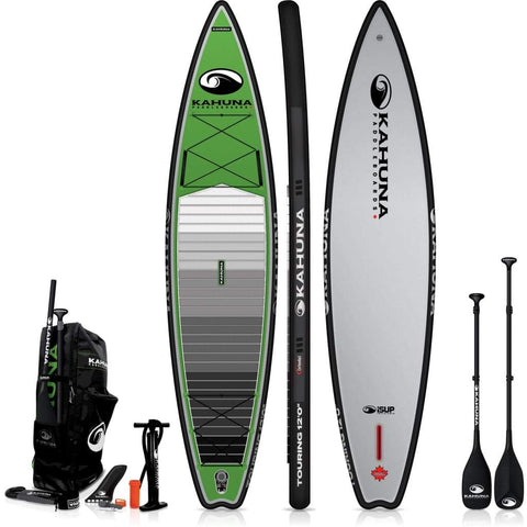 Kahuna 12' iSUP Touring Standup Inflatable Board - BOARDS