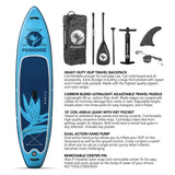 Paradise Board Company Inflatable - 11' x 32 - Blue - BOARDS