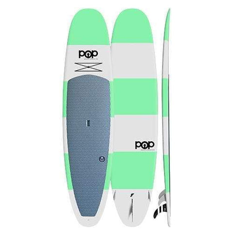 POP BOARDS 11'6 X 32.5 210l SUP THROWBACK - Green - BOARDS