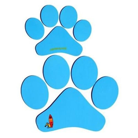PUP DECK PAW PRINTS - DECK PAD FOR DOGS - Blue - GEAR/EQUIPMENT