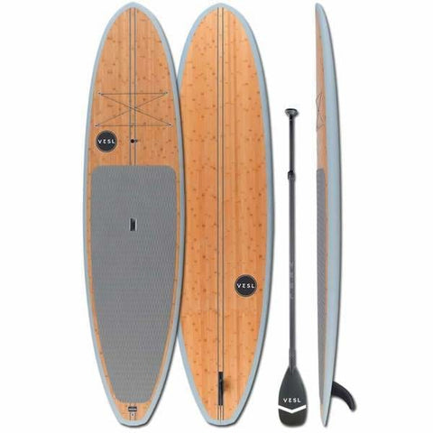 "VESL BAMBOO LIDO 10'6"" X 32"" X 4.7"" PKG - West Coast Paddle Sports"