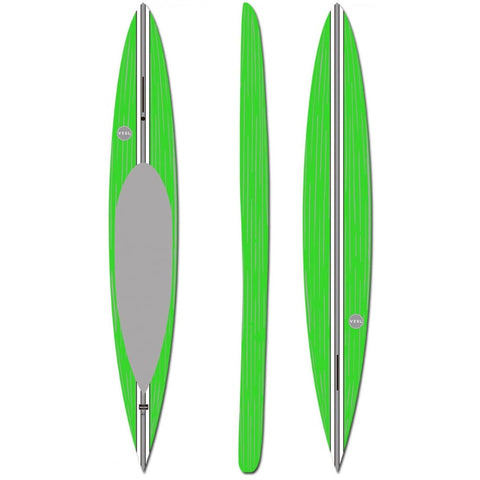 "VESL PRONE PADDLEBOARD GREEN 12'0"" - West Coast Paddle Sports"