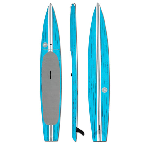 VESL TOURING PADDLE BOARD BLUE 126 X 28 - BOARDS