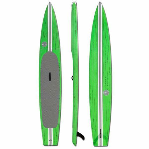 VESL TOURING PADDLEBOARD GREEN 126 X 28 - BOARDS