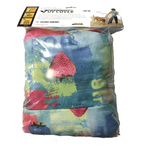 Victory Koredry Uv Cover 96-11 Print - Strawberry - Gear/equipment