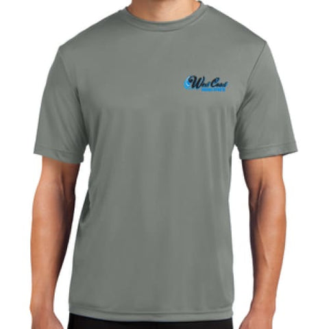 WCPS BLUE LOGO GREY RACE JERSEY - APPAREL