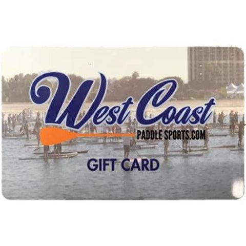 The West Coast Paddle Sports Gift Card - Misc