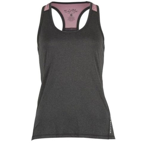 Womens Soar Tank Black/heather - Apparel