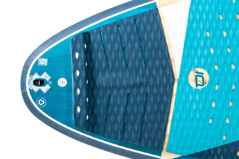 Starboard SUP Stand Up Paddleboard Surf Key Features 2021 Wide-Ride-moderate-tail-kick