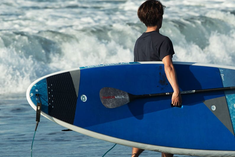 Starboard SUP Stand Up Paddleboard Surf Key Features 2021 Wide-Ride-wide-rounded-tail