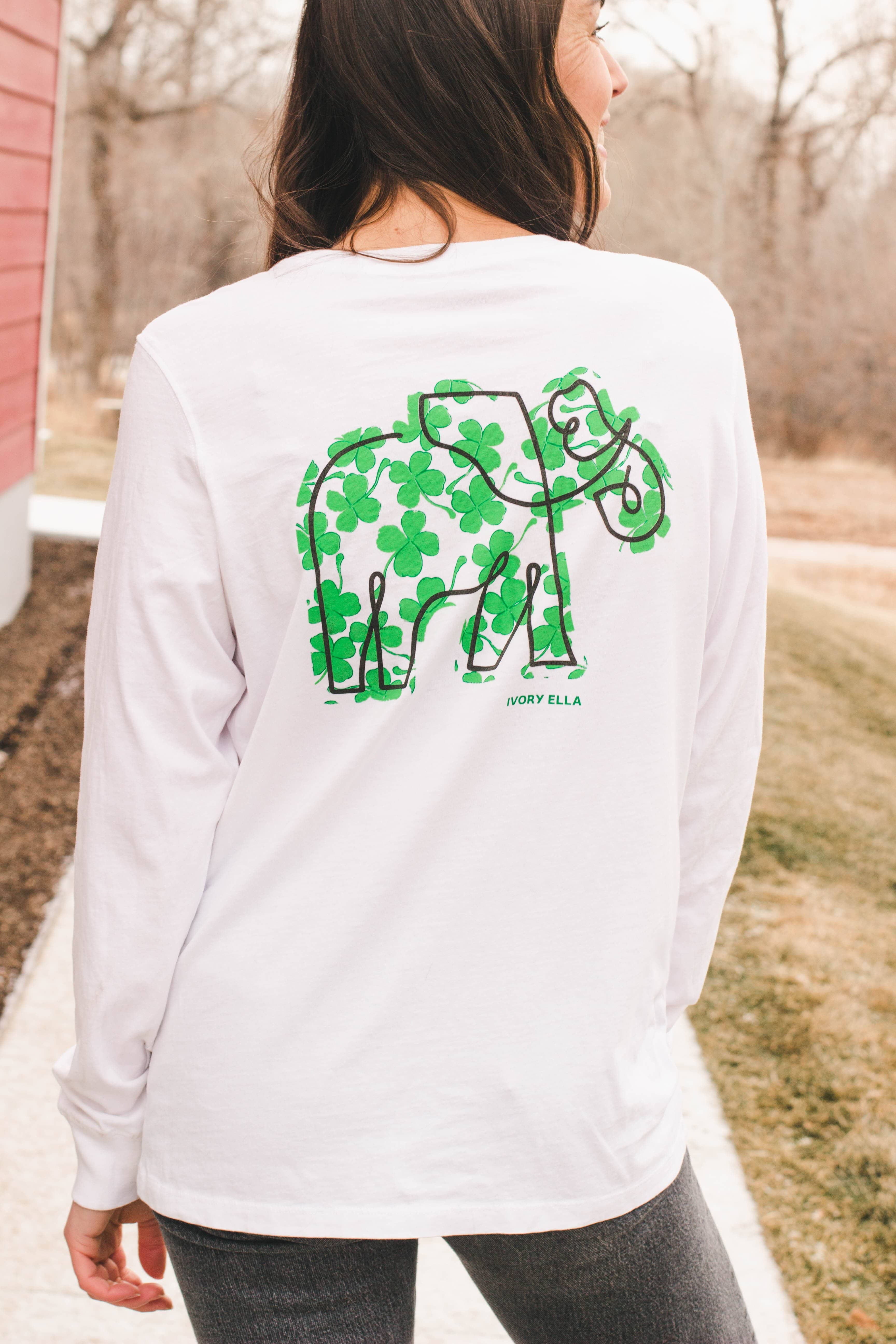 Lucky Clover Long Sleeve T-shirt