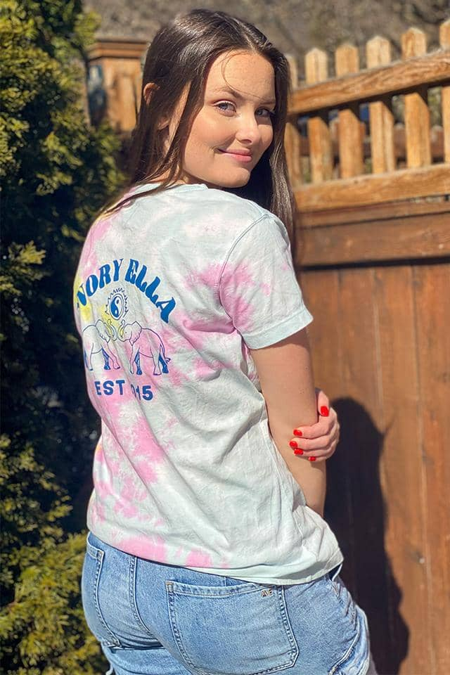 Rainbow Cloud Tie Dye T-shirt
