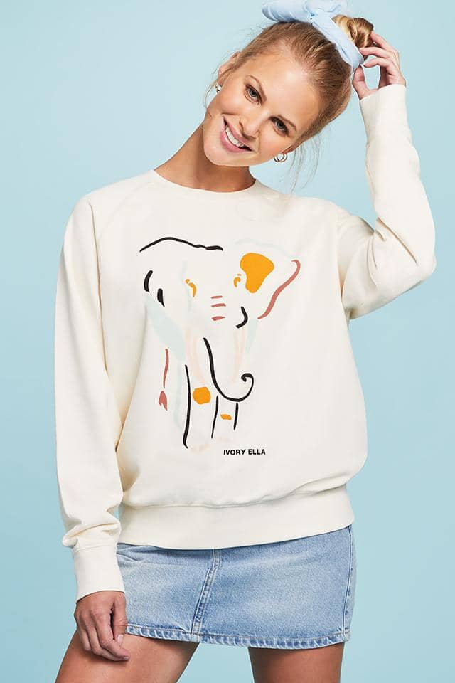 Elephant Shapes Sweatshirt