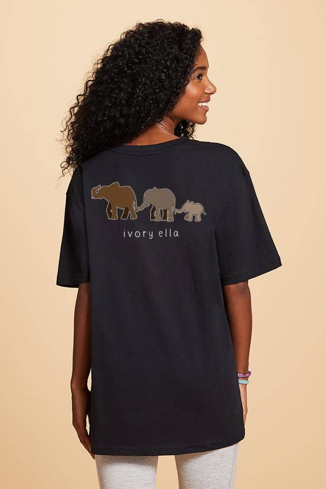 Elephant Trio Oversized T-shirt