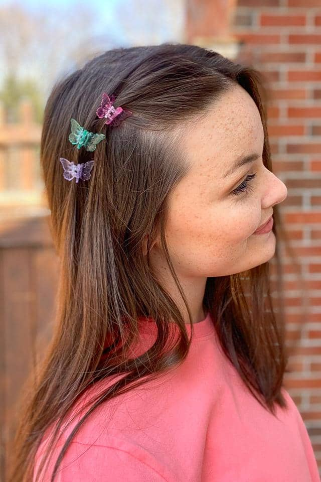 Iridescent Hair Clip Set