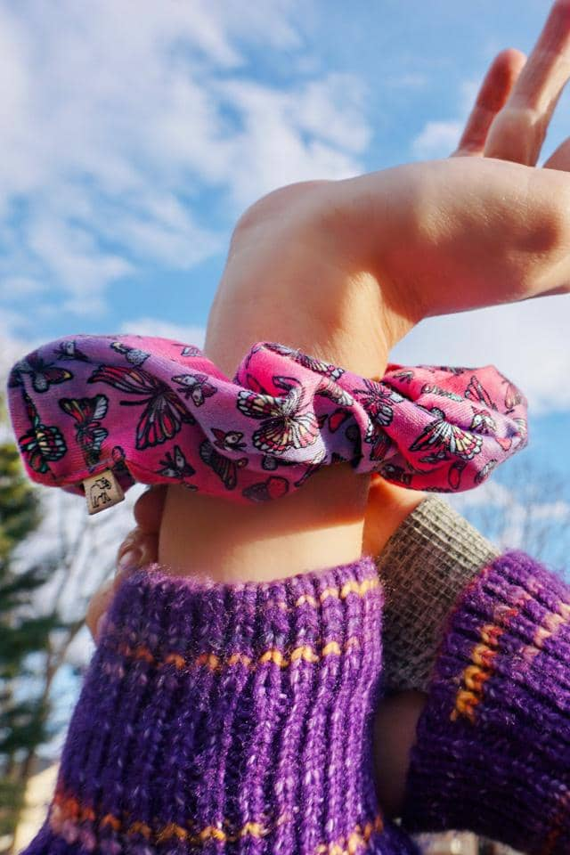 Butterfly Large Scrunchie