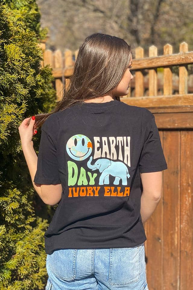 Earth Day Oversized T-shirt