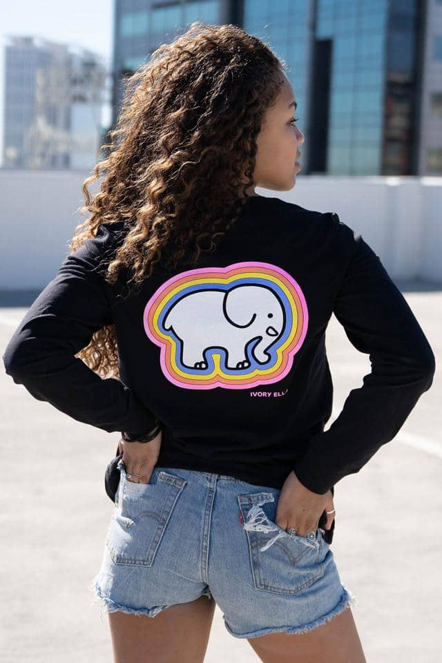 Heritage Rainbow Long Sleeve T-shirt