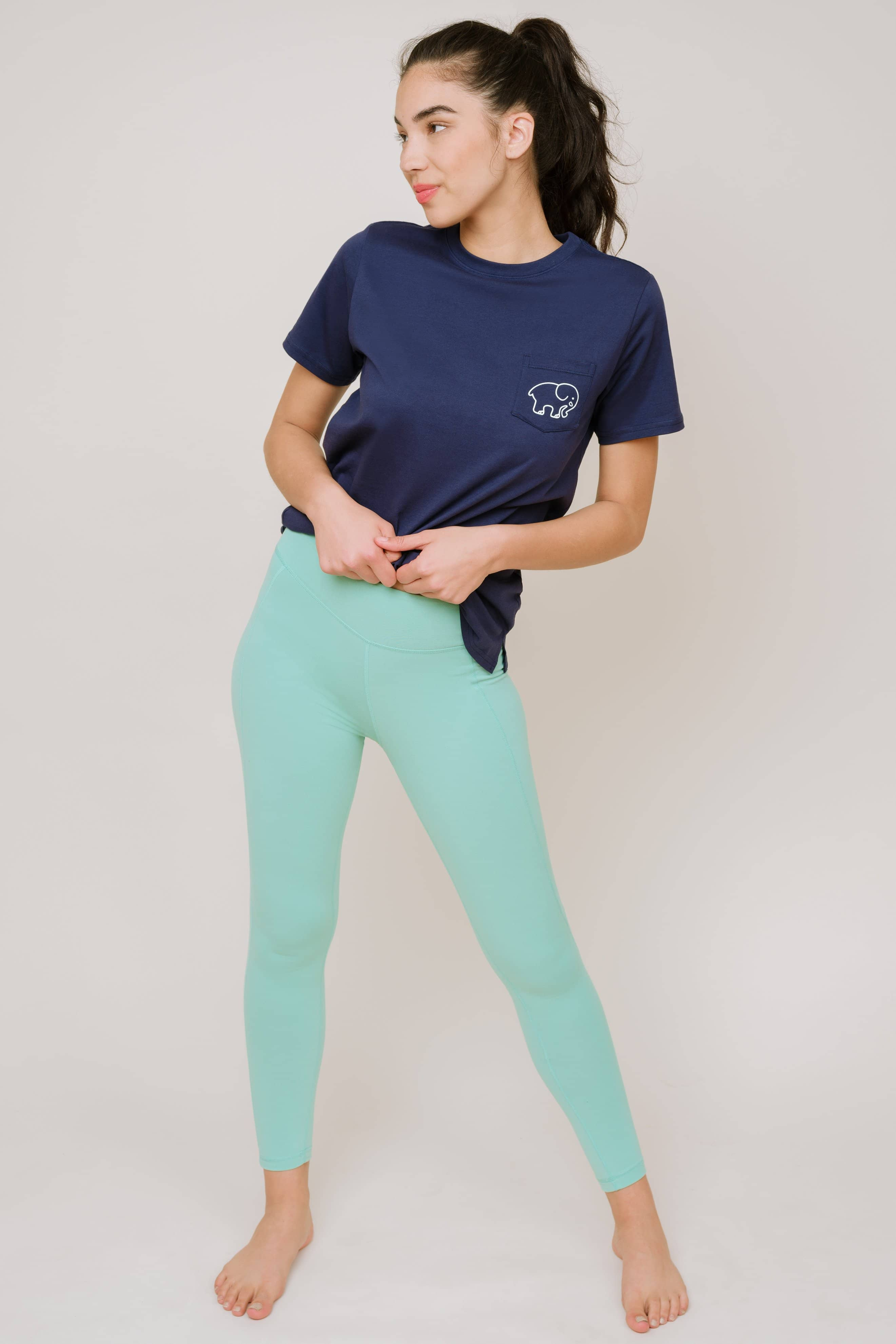 High Waist Legging 28""