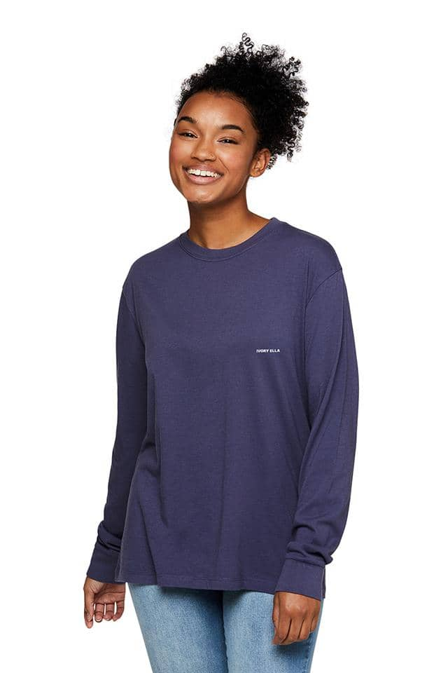 Heritage Cherries Oversized Long Sleeve T-shirt