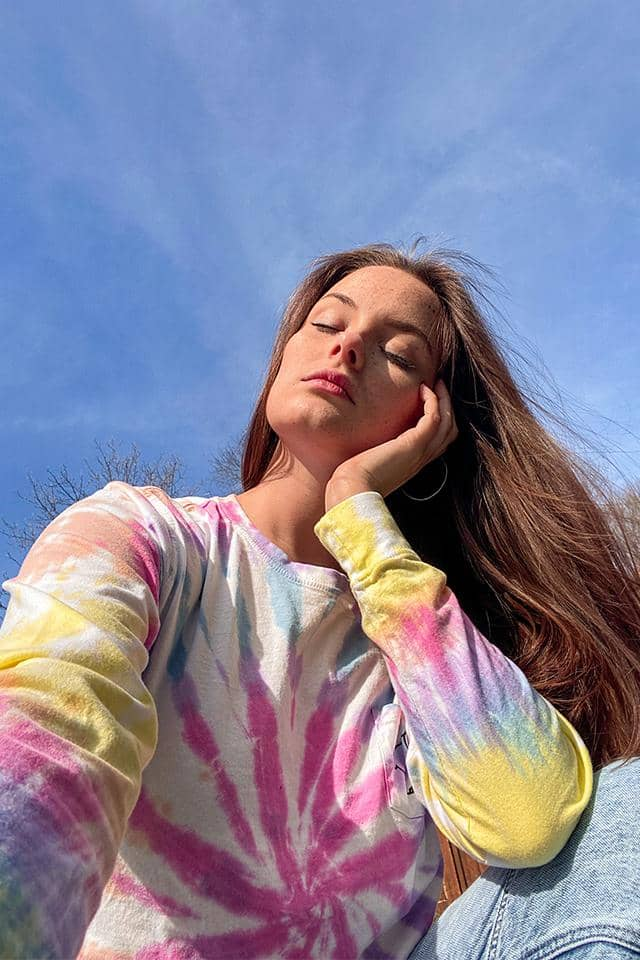 Horizon Tie Dye Swirl Long Sleeve T-shirt