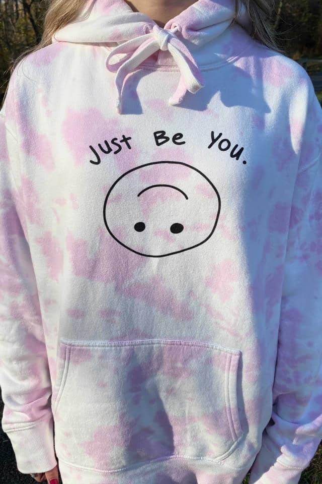 Limited Edition: Pastel Pink Tie Dye Oversized Hoodie