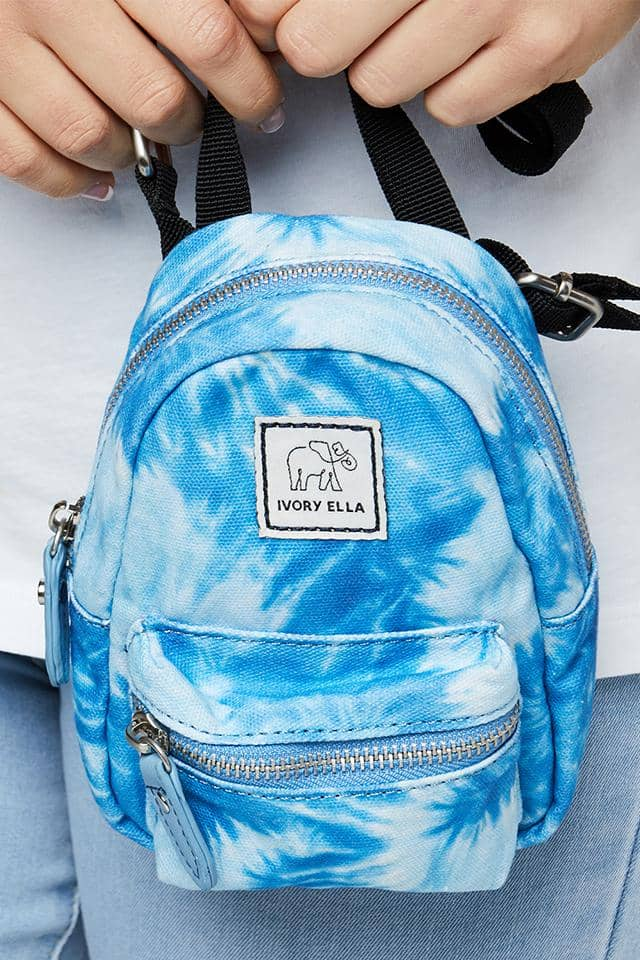 Mazarine Swirl Backpack Crossbody