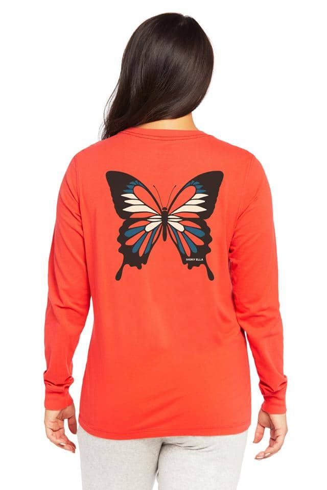Mystic Butterfly Long Sleeve T-Shirt