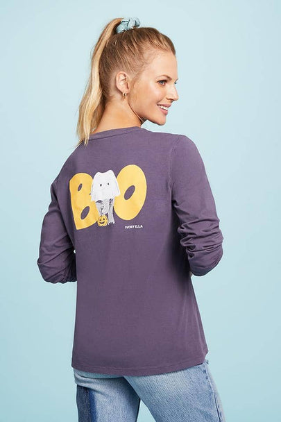 Halloween Boo Long Sleeve T-Shirt