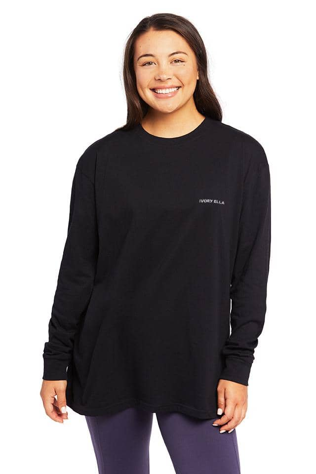 Wild Child Oversized Long Sleeve T-Shirt
