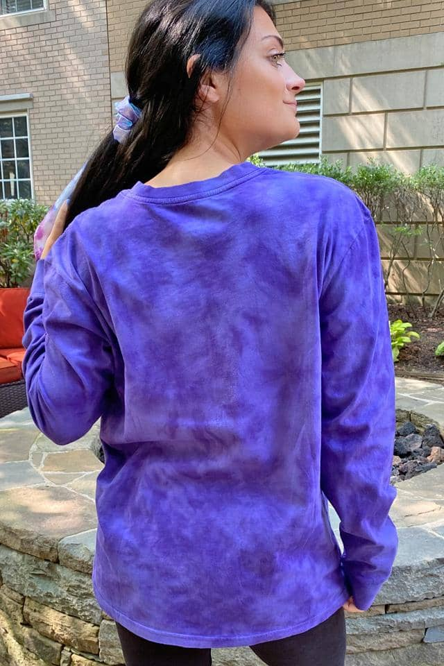 Petunia Tie Dye Oversized Long Sleeve T-Shirt