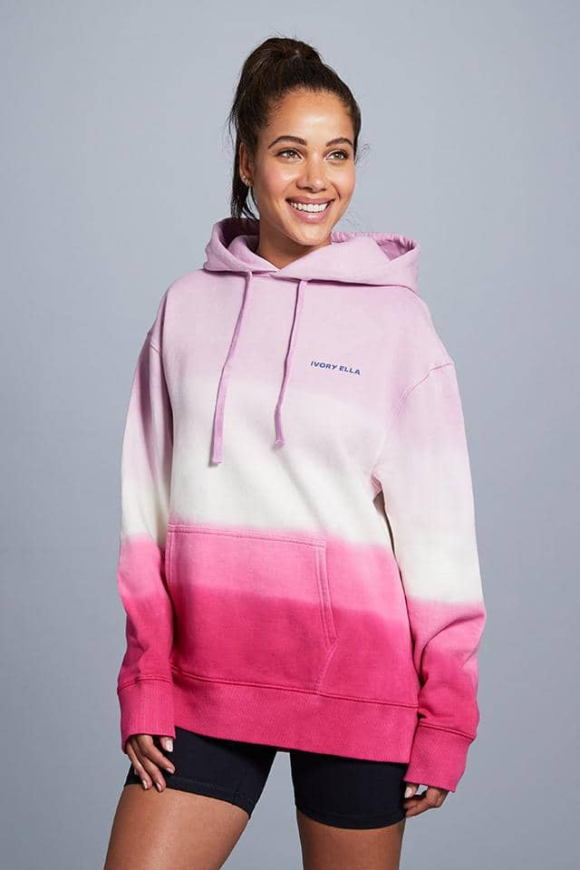 Pink Ombre Oversized Hoodie