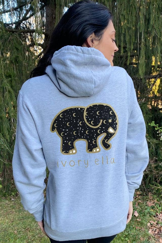 Moon And Stars Oversized Hoodie