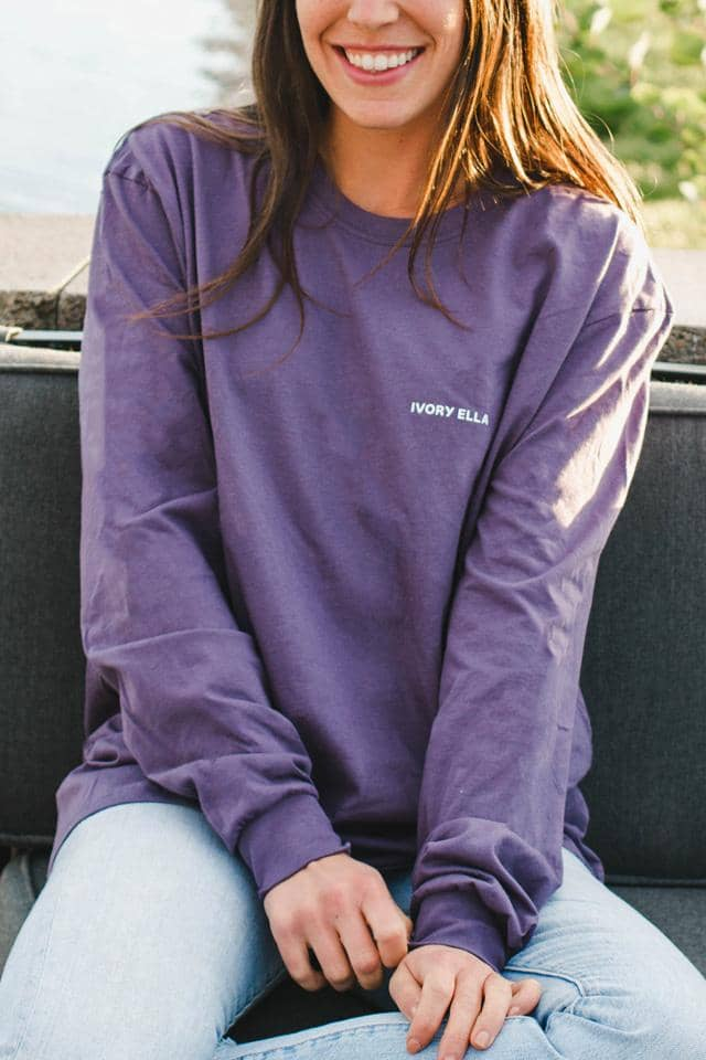 Sweater Weather Oversized Long Sleeve T-Shirt
