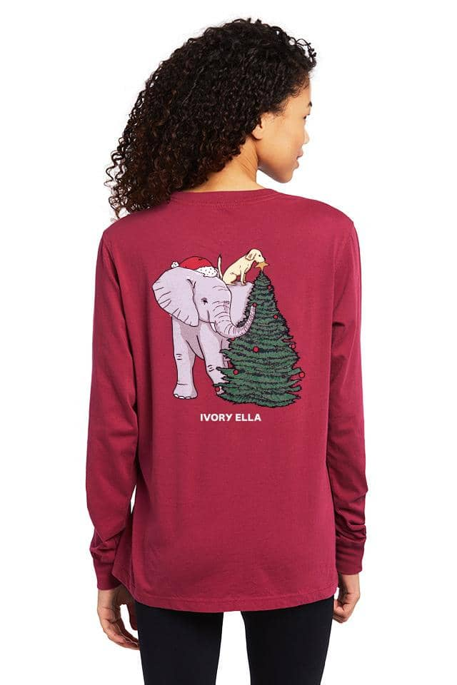 Trimming The Tree Long Sleeve T-shirt