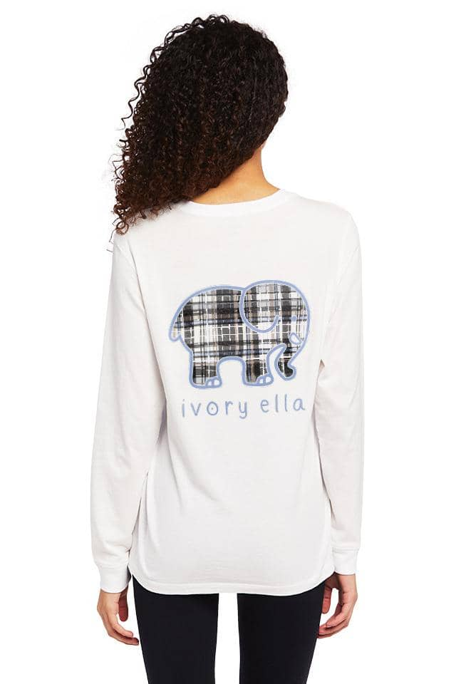 Vera Bradley Cozy Plaid Heritage Long Sleeve T-shirt