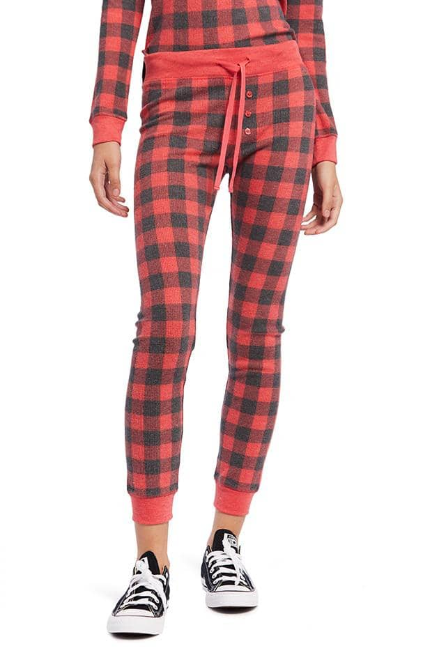 Buffalo Plaid Pajama Legging