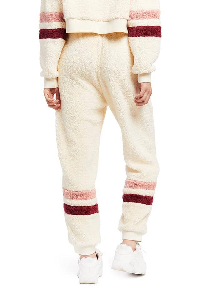 Ultra Fuzzy Fleece Lounge Jogger