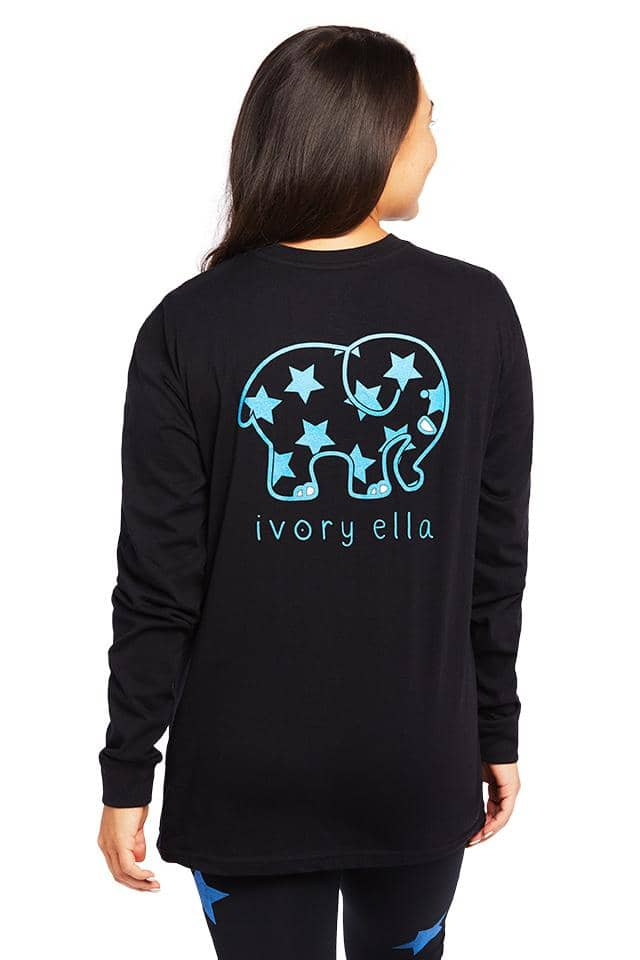 Heritage Metallic Stars Long Sleeve T-Shirt