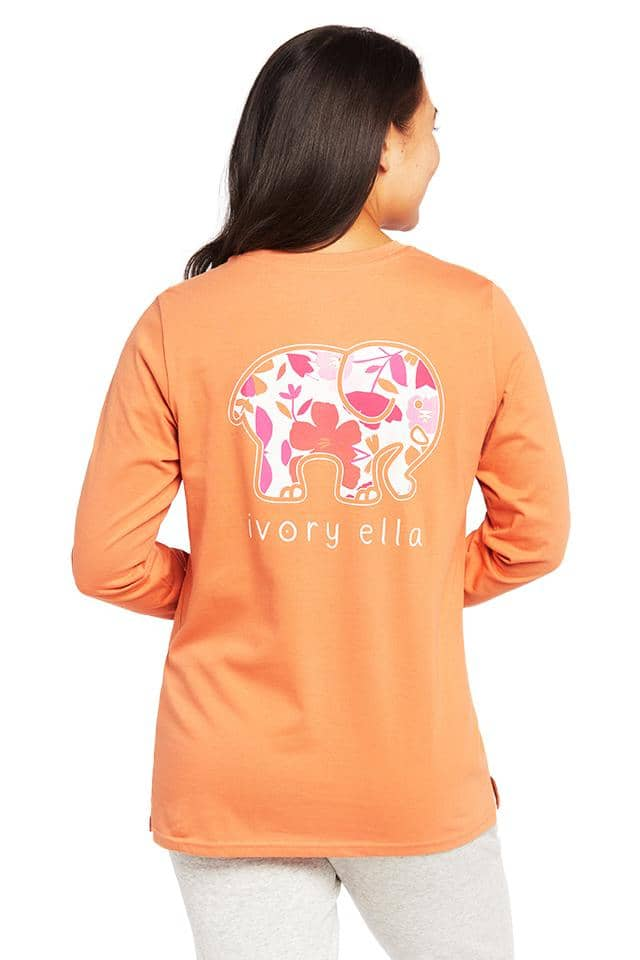 Heritage Safari Florals Long Sleeve T-Shirt