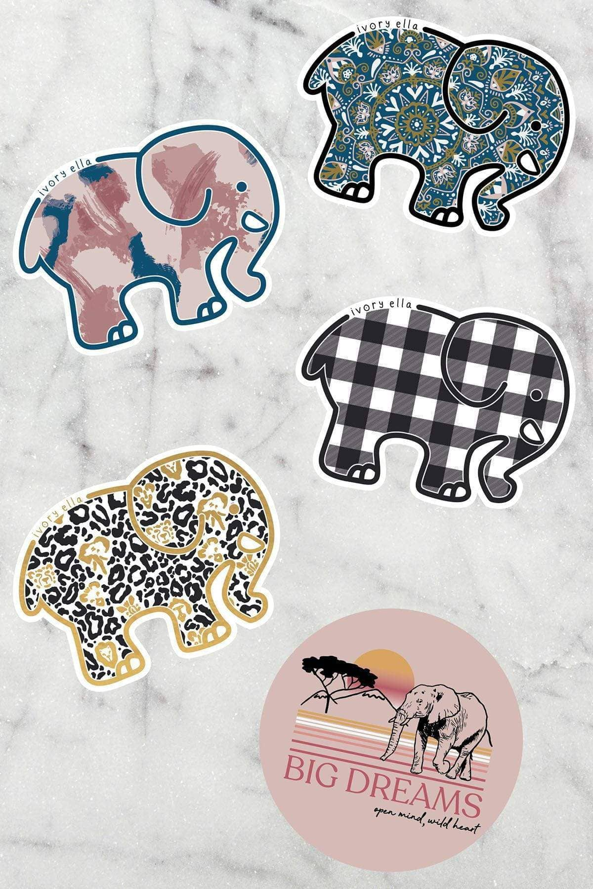 Ivory Ella Accessories December Sticker Pack