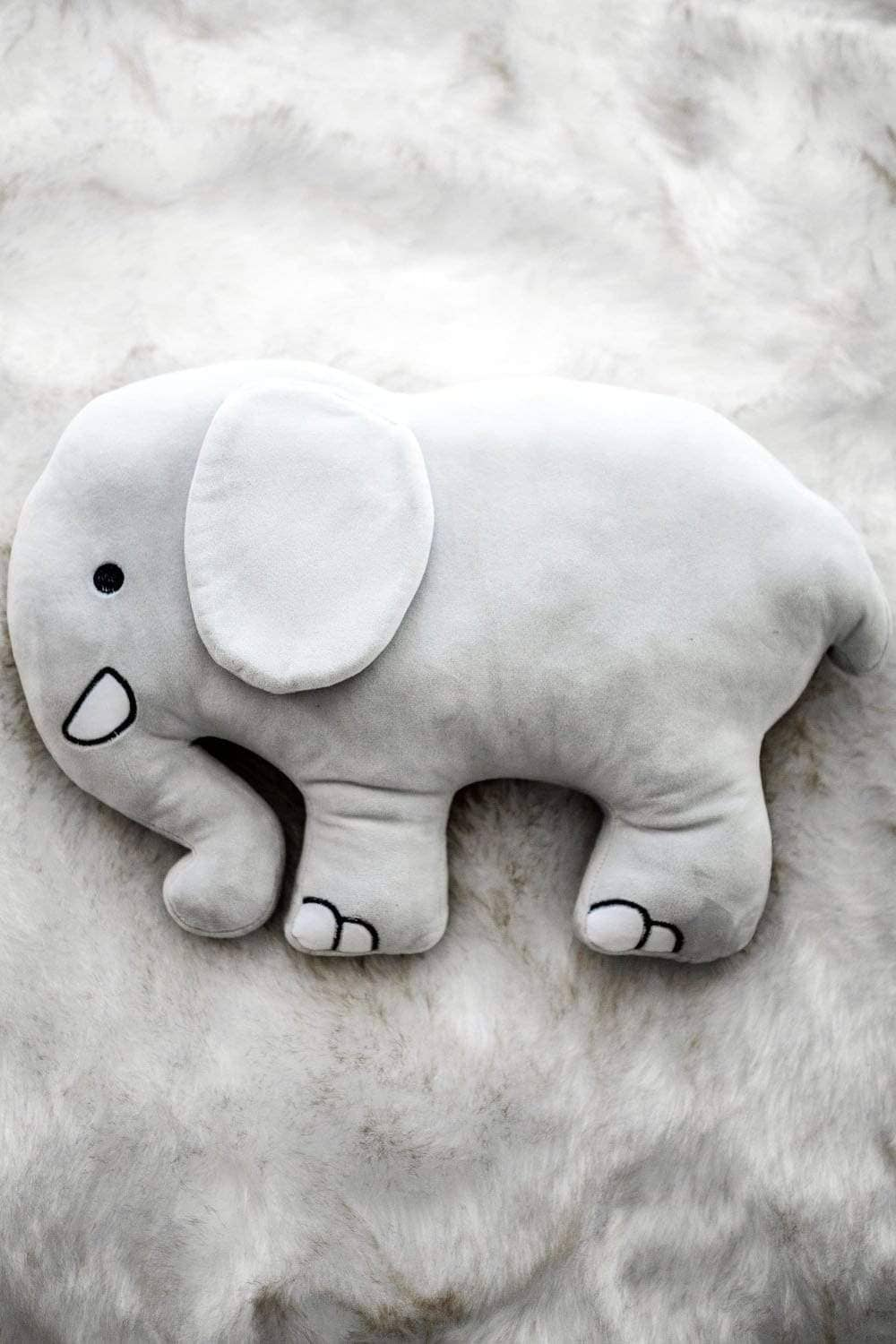 Elephant Pillow - Ivory Ella - Accessories