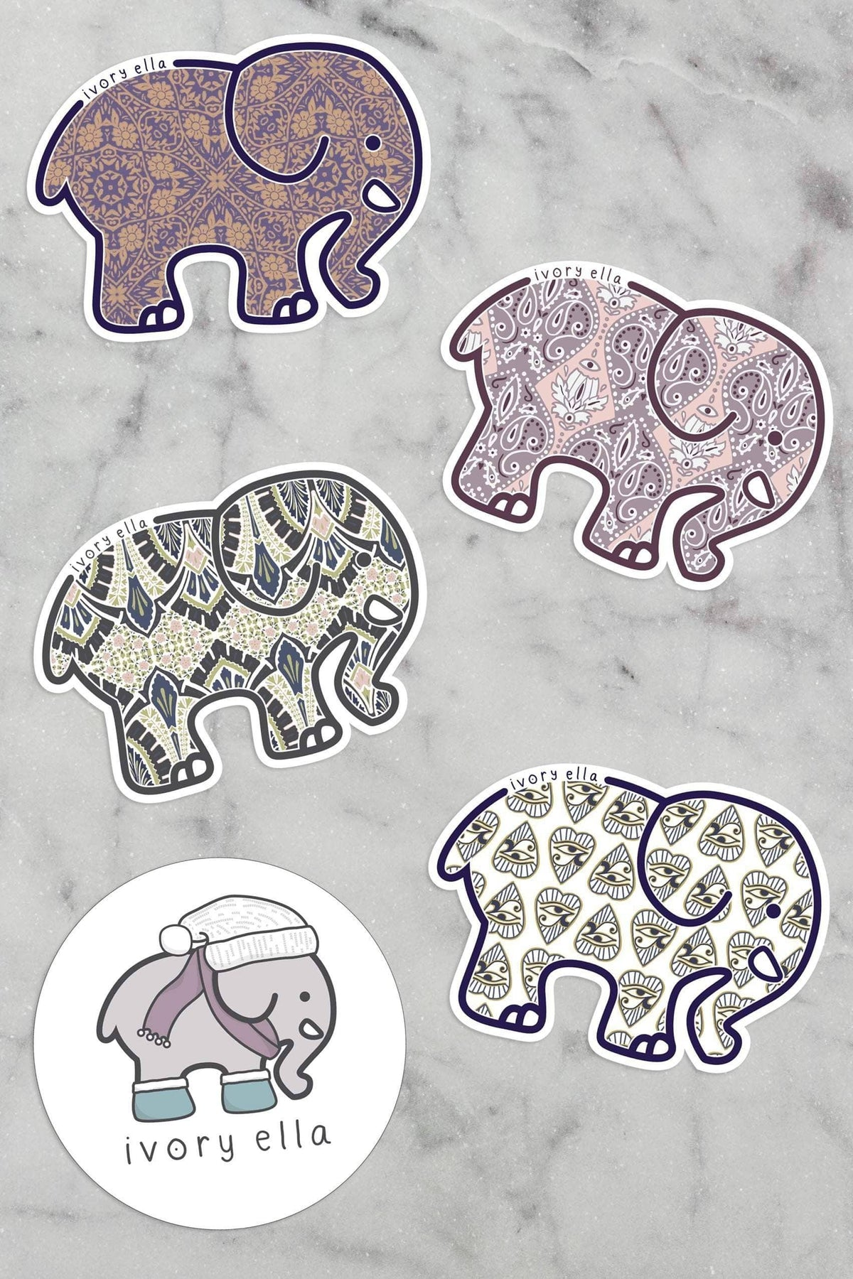ee55df593 Ivory Ella Accessories January Sticker Pack