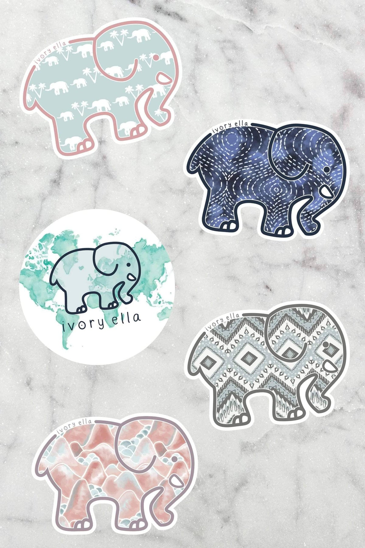 Ivory Ella Accessories June Sticker Pack
